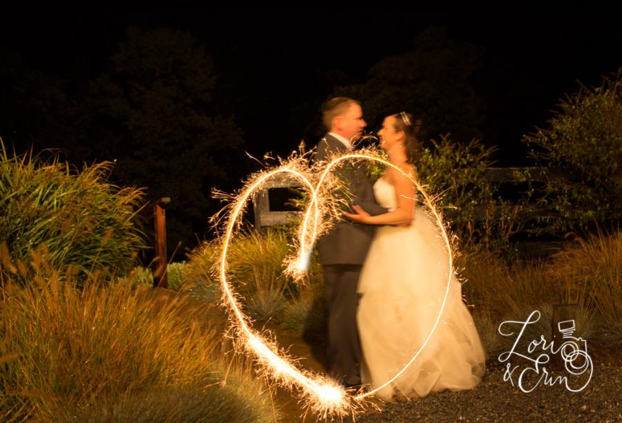Destination Wedding Photography, Virginia Wine Country, Bluemont Vineyard, sparklers