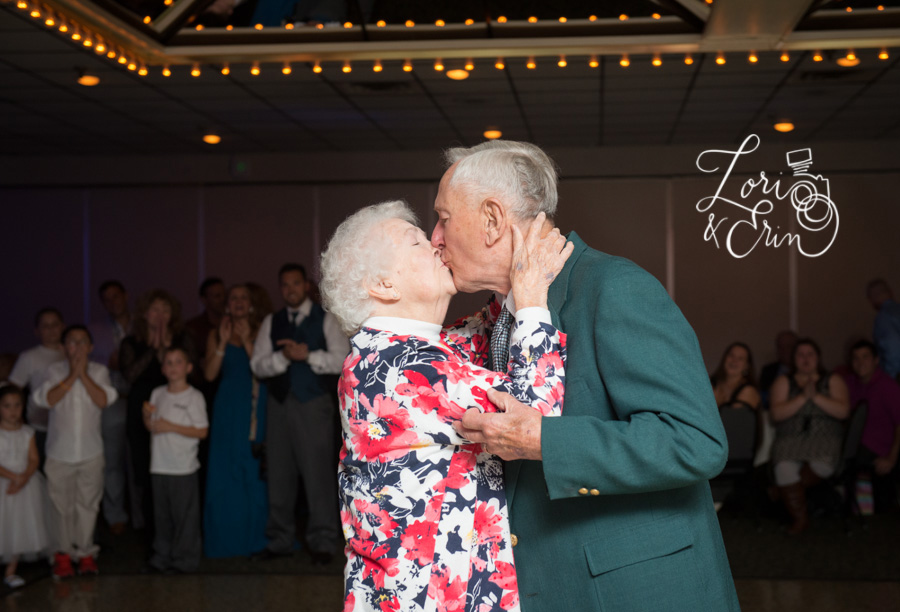 Older couple, anniversary dance, rochester ny wedding