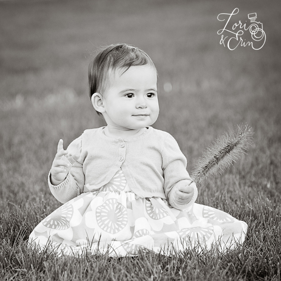 One year old portrait session, rochester ny