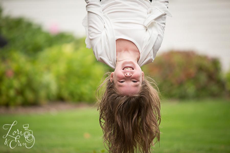 upside down portrait