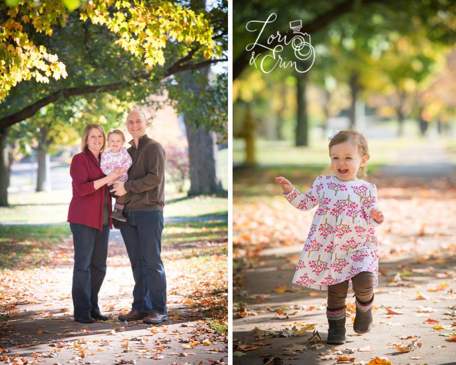 Highland Park Family Session, Fall Portraits Rochester NY