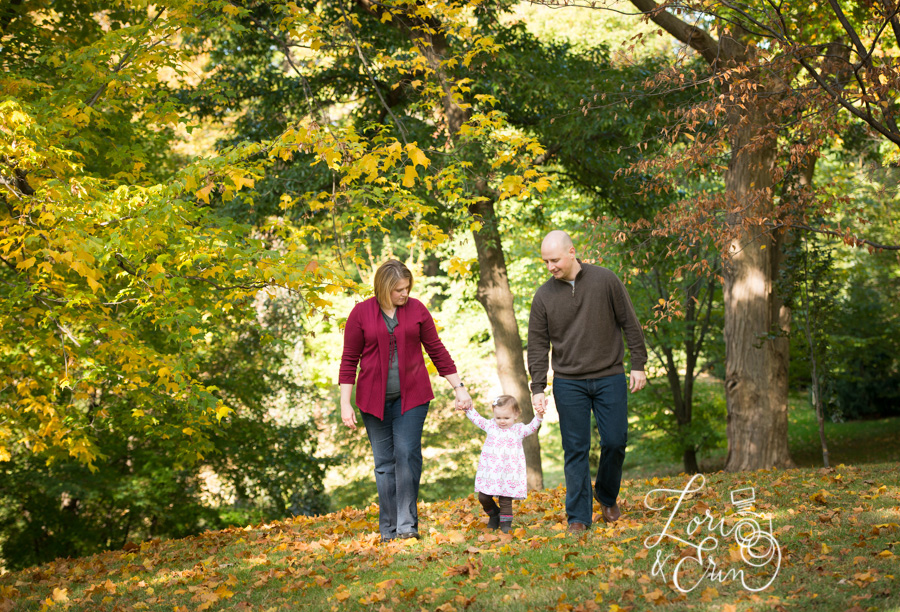 Highland Park Family Session, Fall Portraits Rochester NY