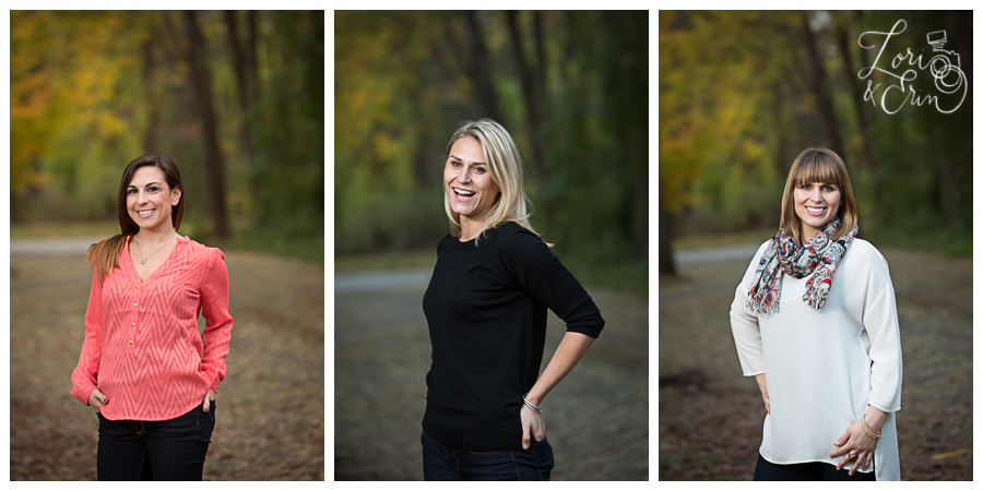 3 sister portraits