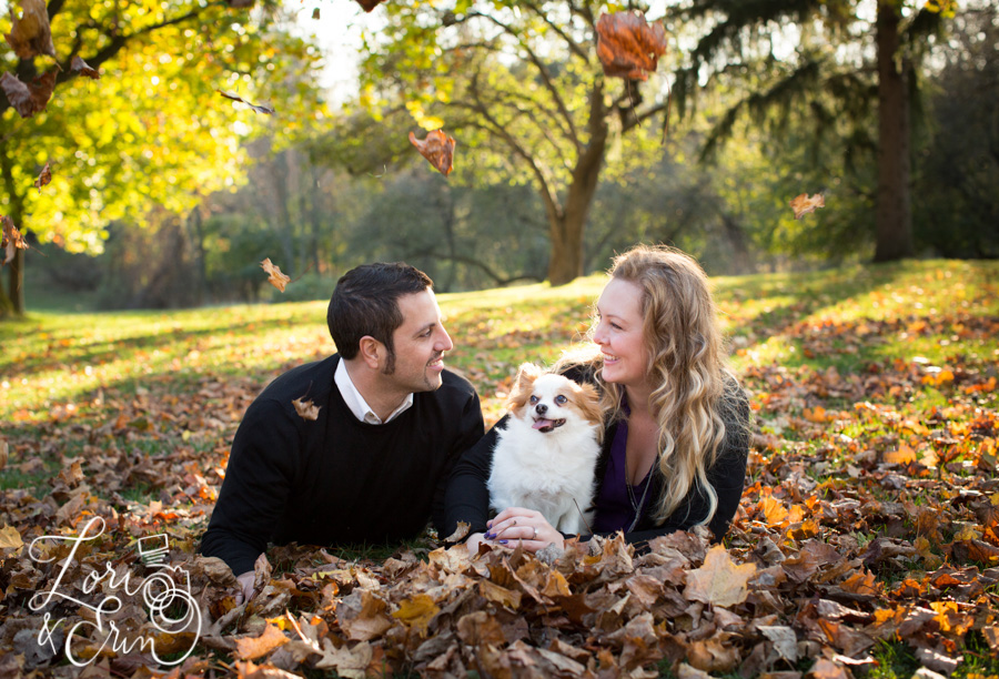 Mendon Ponds Park Engagement Session, Fall Engagement Session