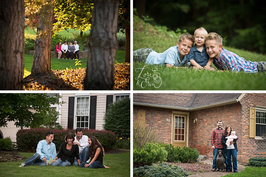 back yard portraits