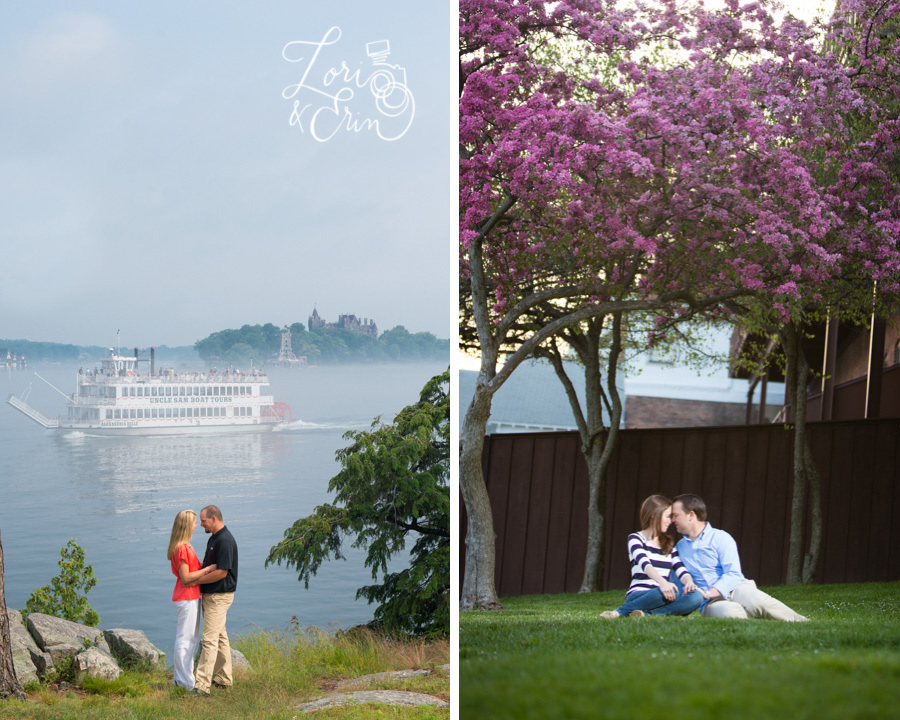Will we travel for an engagement session? You bet...Skaneateles and Alexandria Bay are just two places we've been.