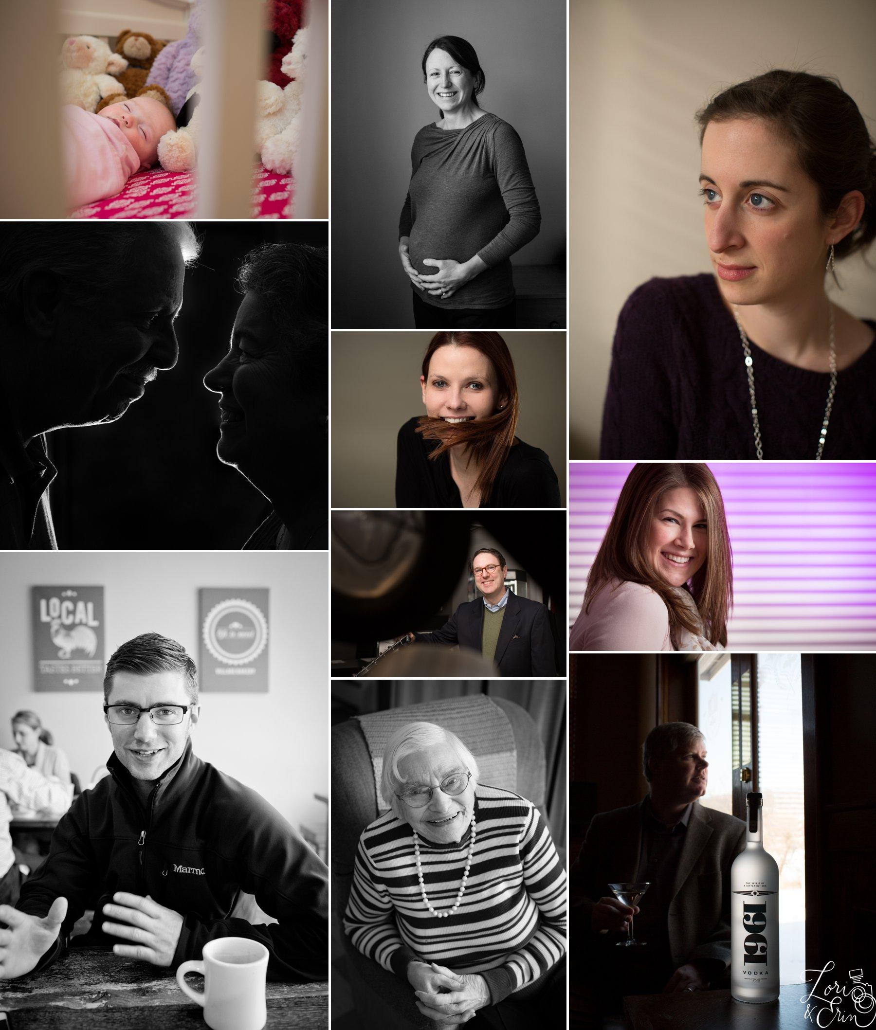 portraits sampling
