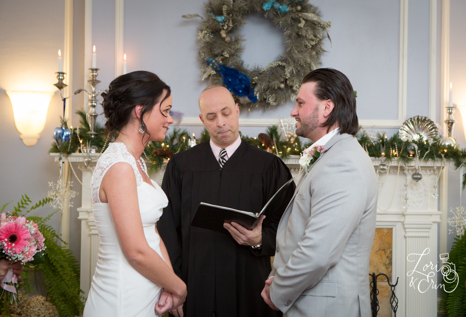 Elopement at Edward Harris House Ceremony
