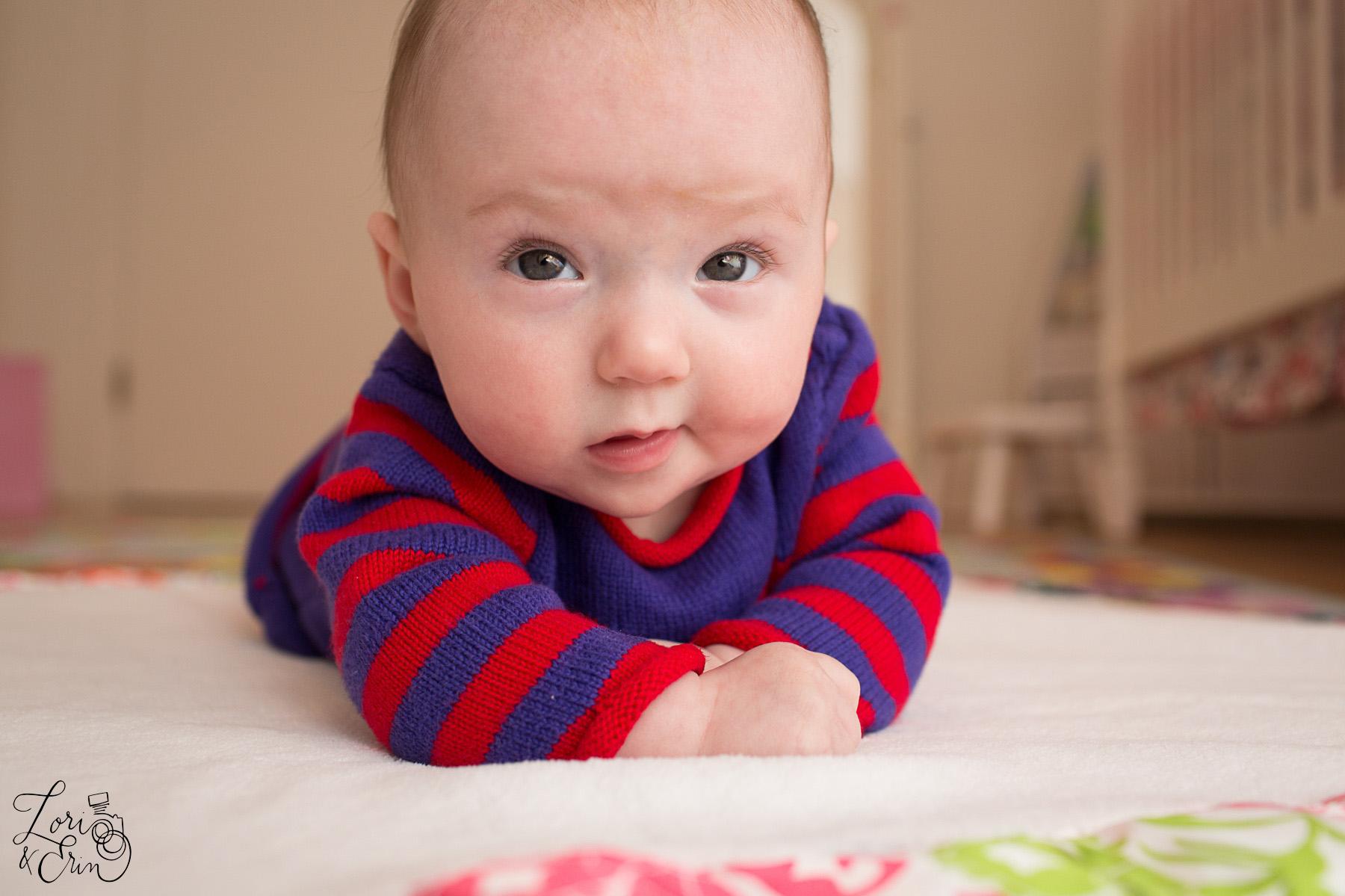 baby smirk