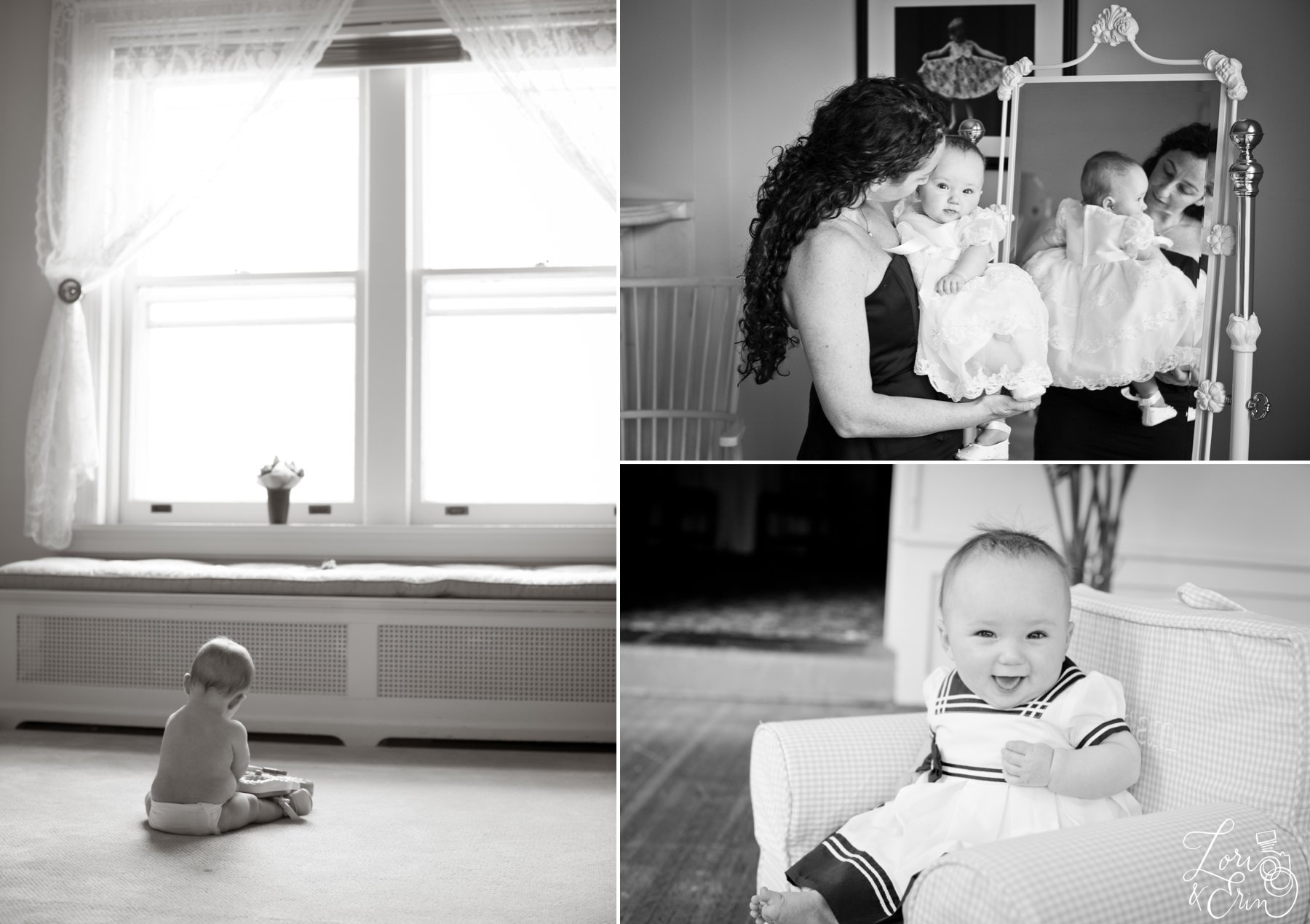 black and white baby images