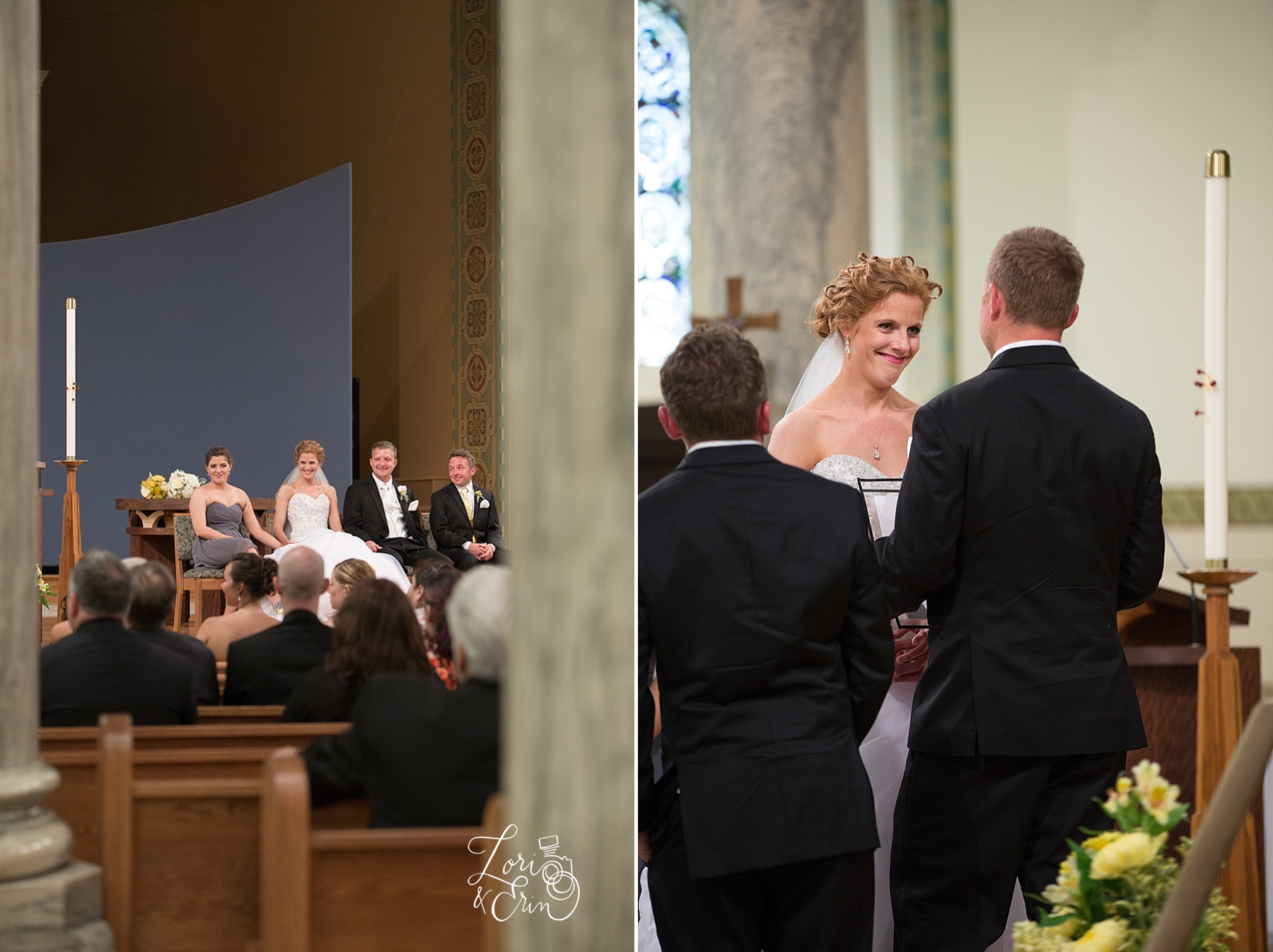 St. Monica's Wedding, Rochester NY Wedding Photography