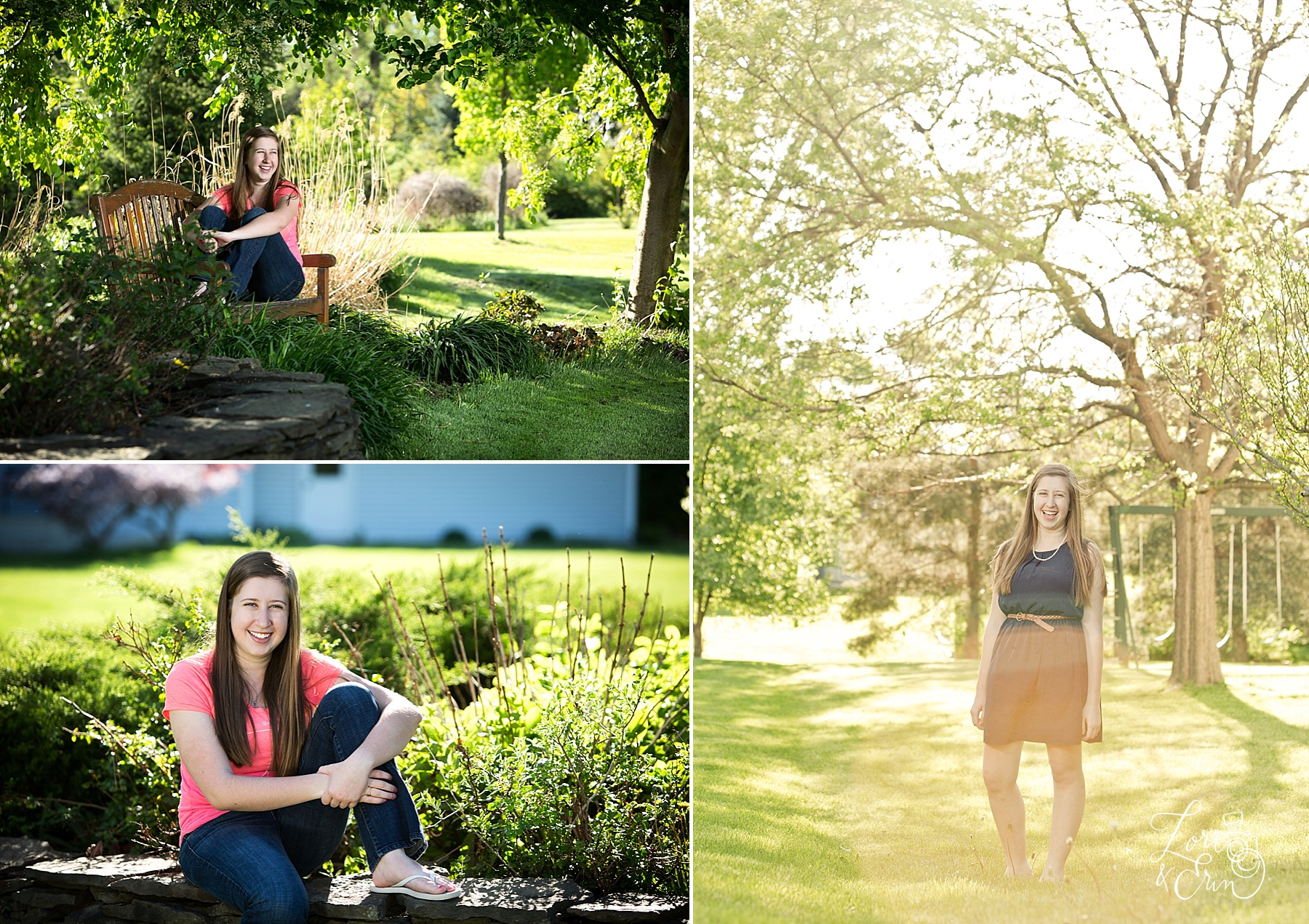 mercy high school senior portraits