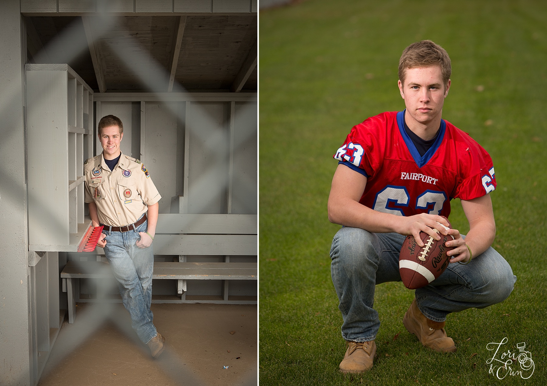 fairport high school senior portraits