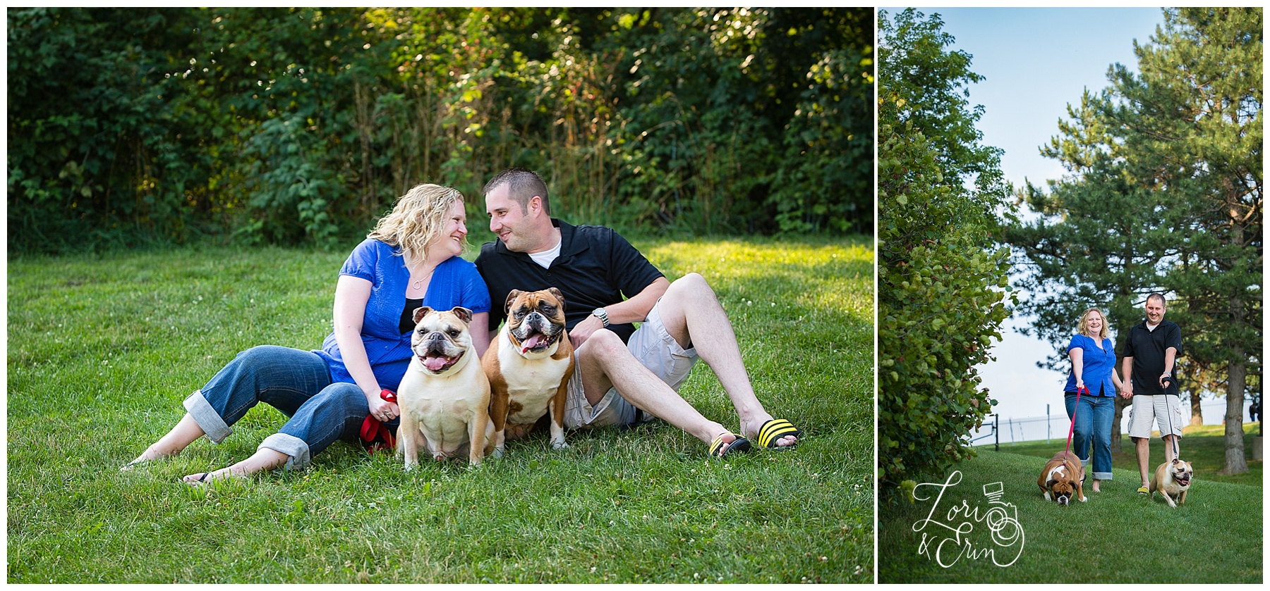 Cobbs Hill Engagement Session, Rochester NY Engagement Session