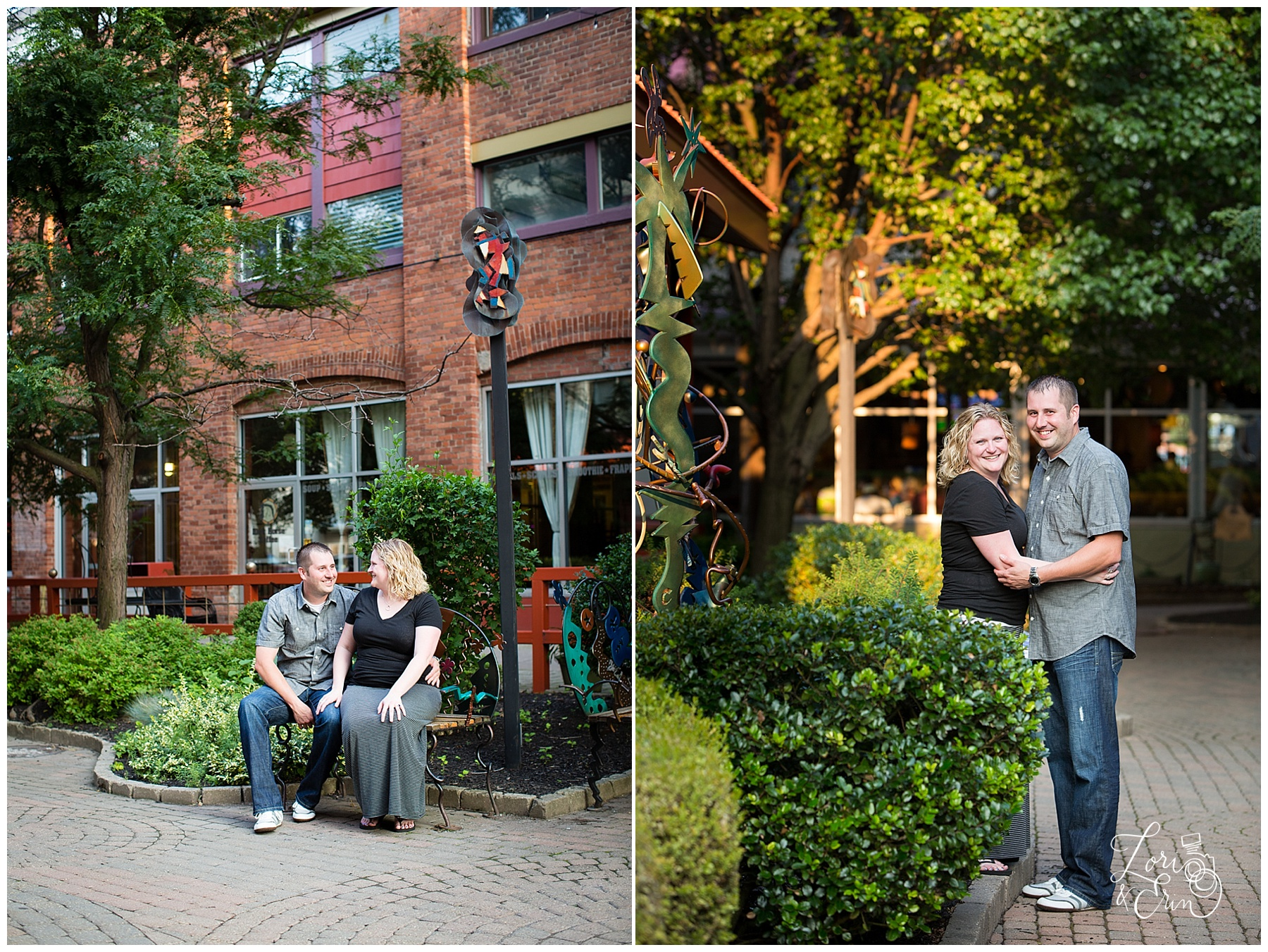 Village Gate Engagement Session, Rochester NY Engagement Session