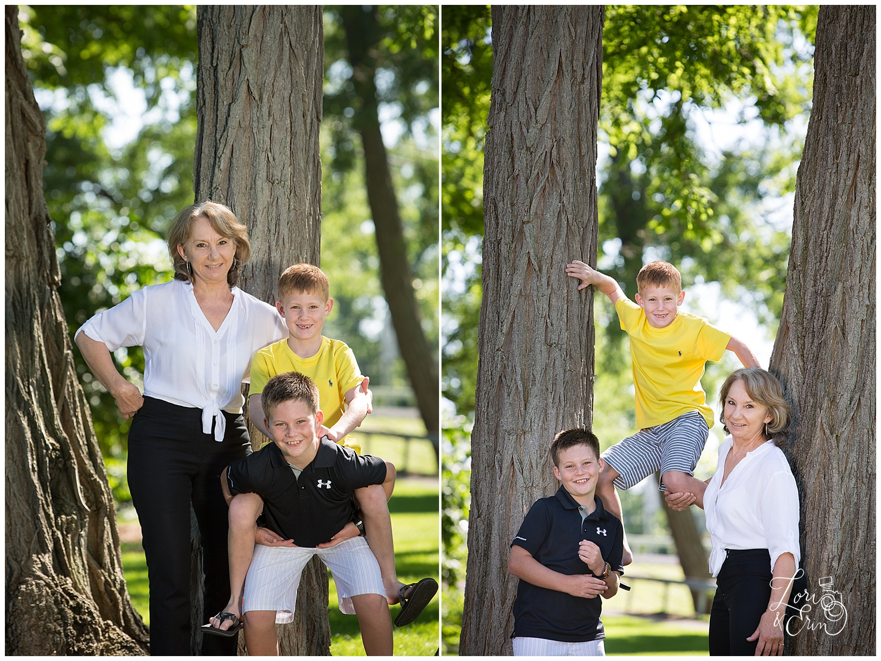 Fairport NY Family Portraits