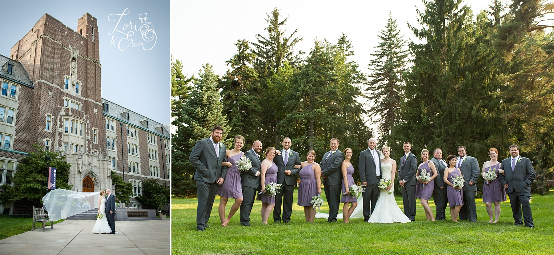 Nazareth Chapel Wedding, Rochester NY Wedding Photography