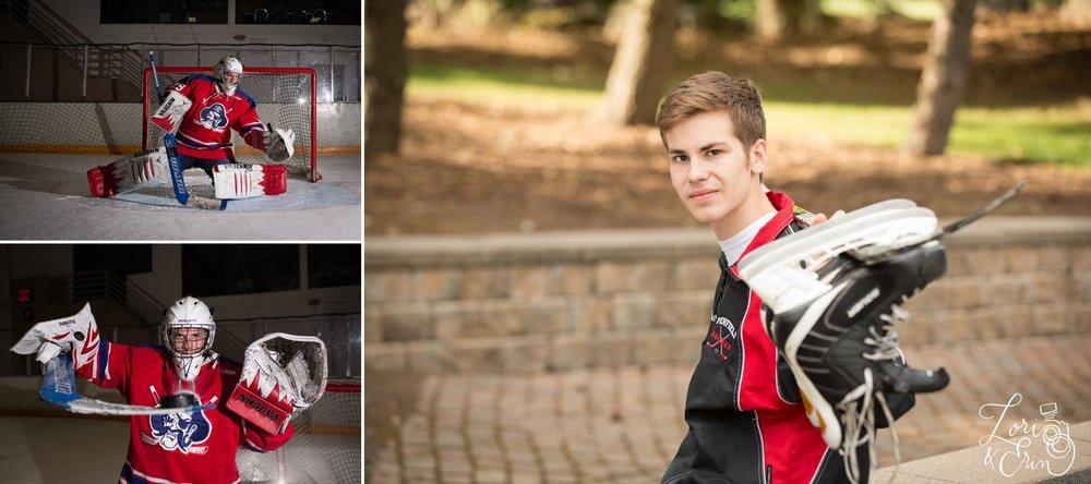 ice arena,ice rink,senior portraits,