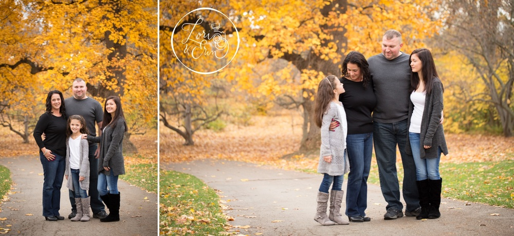 fall family session at Highland Park, Rochester, NY
