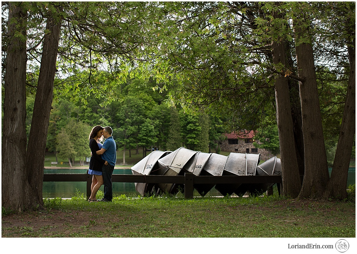 Green Lakes, Syracuse Engagement Session — Lori and Erin Photography