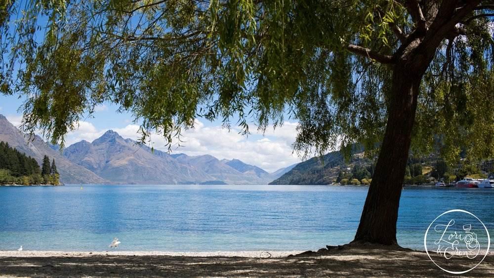 B. Lake Wakatipu & Walter Peak, New Zealand