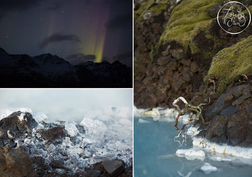 Northern Lights and sulfurous lagoons