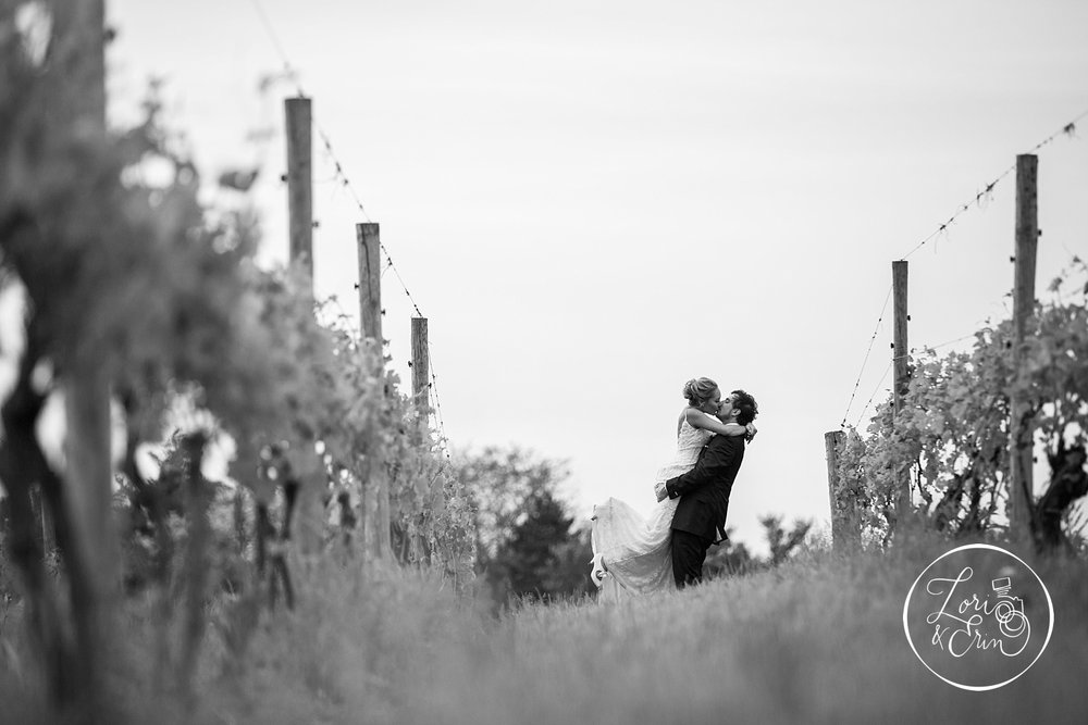 rustic wedding at Ventosa Vineyards in Geneva, NY | Lori & Erin Photography, Rochester NY