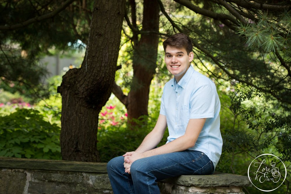 Pittsford Mendon Senior Portraits, Class of 2017, photos taken at Highland Park