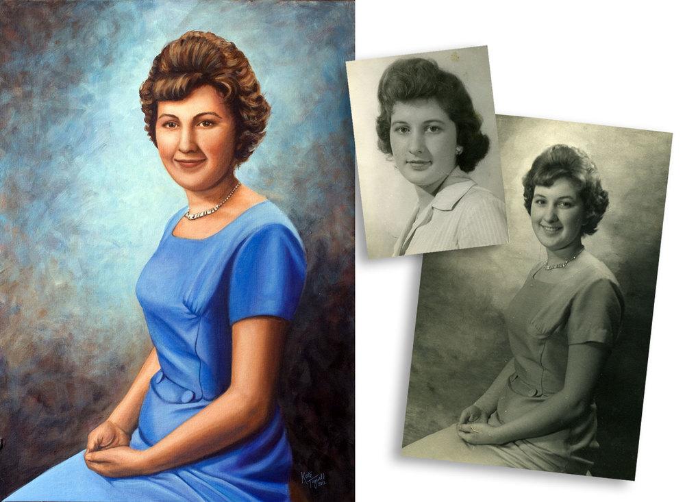 Portrait-of-Robert-Lamb's-Wife-acrylic&photos.jpg