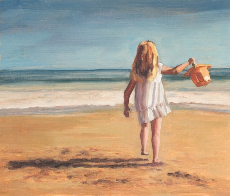 Art-for-sale---Peter-Keegan-2017---Beach-girl.jpg