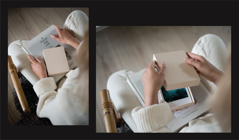 Breathe life into your memories while keeping them close: Store them in one (or a few) of our stylish Memory Boxes.