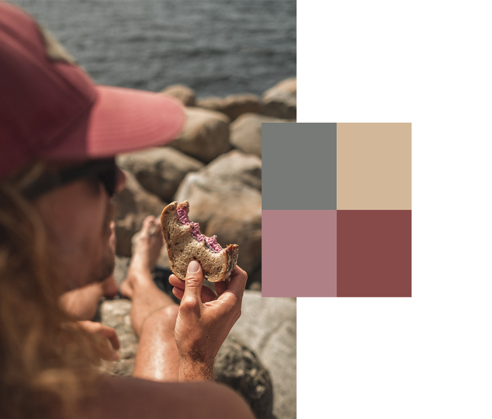 När du fotar : Identifiera färgerna runt dig och jobba med dem specifikt för att rama in din bild med färg och ljus.