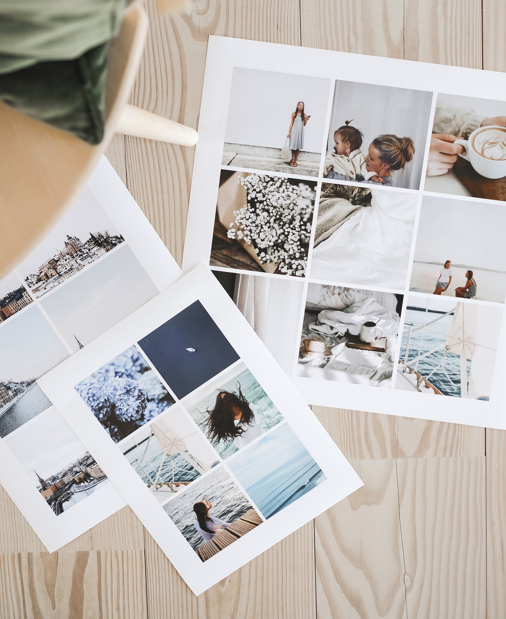 Fotoposters i olika grids och storlek