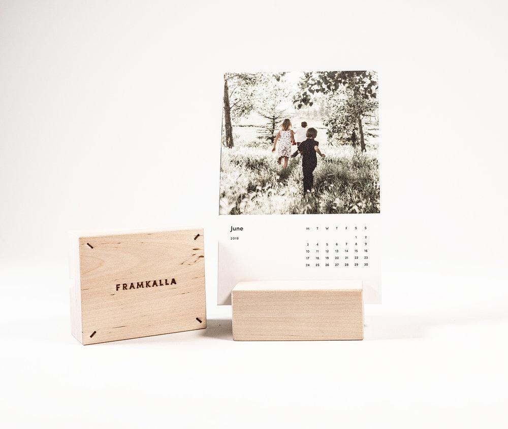 Björkställ + Kalenderkort