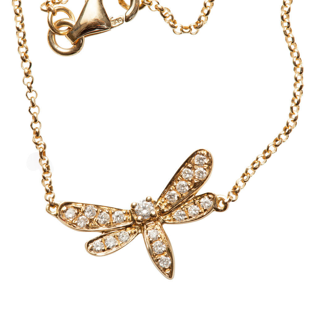 LIBELULA BRACELET 13.400 NOK   18 kt yellow gold with diamonds