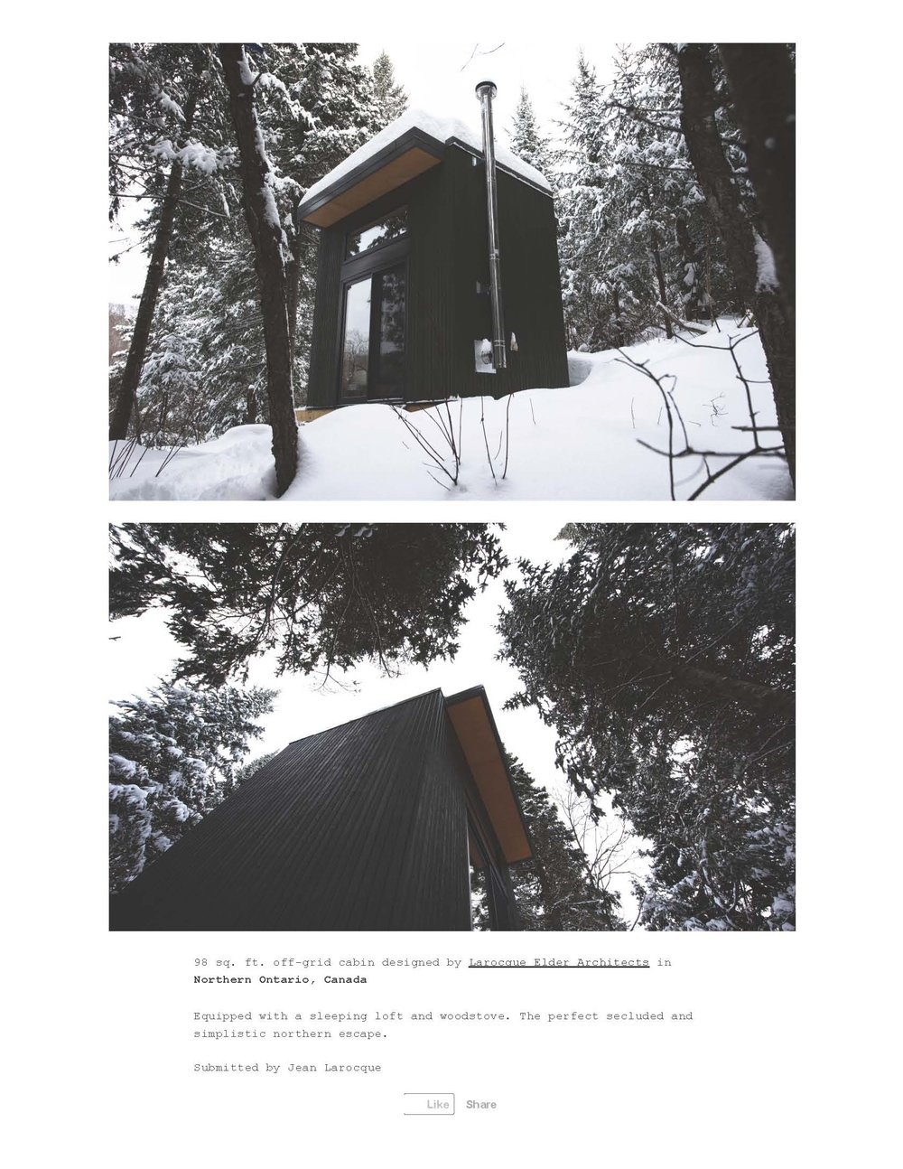 Cabin Porn – 98 sq. ft. off-grid cabin designed by Larocque._Page_2.jpg
