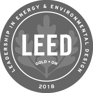 The LEED® Certification trademark is licensed to the Canada Green Building Council and is used here with permission.