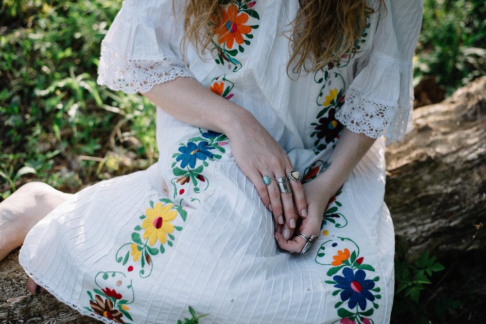 Photo by  Rose Colored Creative | Vintage Dress via  juju