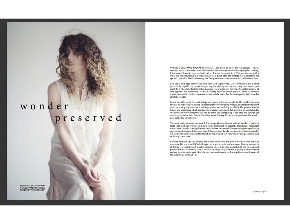 Wonder Preserved by Jessa Gibboney | Holl & Lane Magazine
