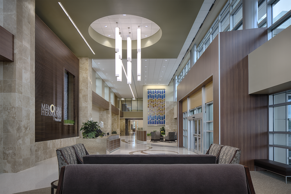 PHILOWILKE PARTNERSHIP   MEMORIAL HERMAN PEARLAND   2016 | Interiors Merit Award