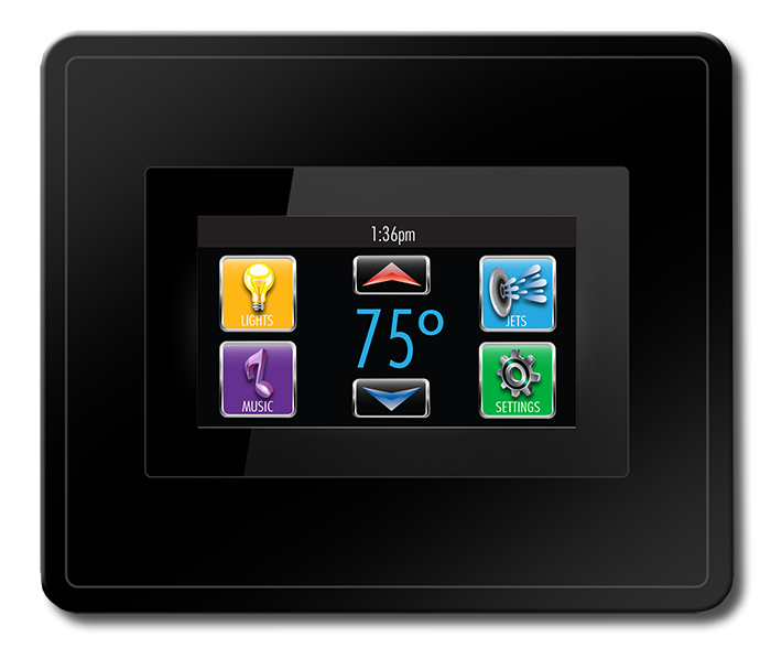 Power at Your Fingertips - Easily control your hot tub with this powerful, easy to read control panel. Large animated buttons let you know when things are in operation