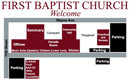 Campus Map First Baptist Waynesboro