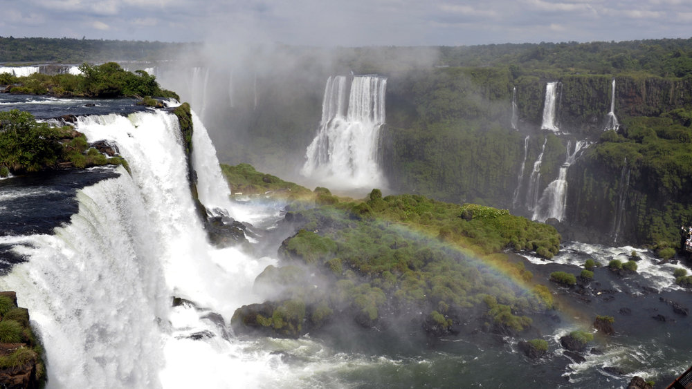 Foz do Iguaçu was recently named one of the New Seven Natural Wonders of the World