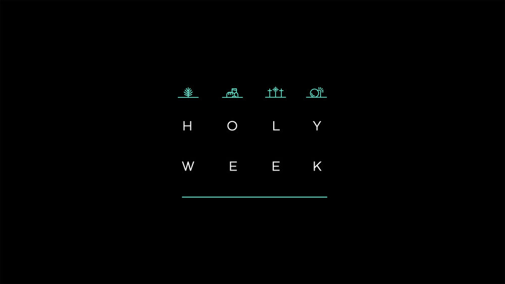 Palm sunday and Easter Sunday | 2018