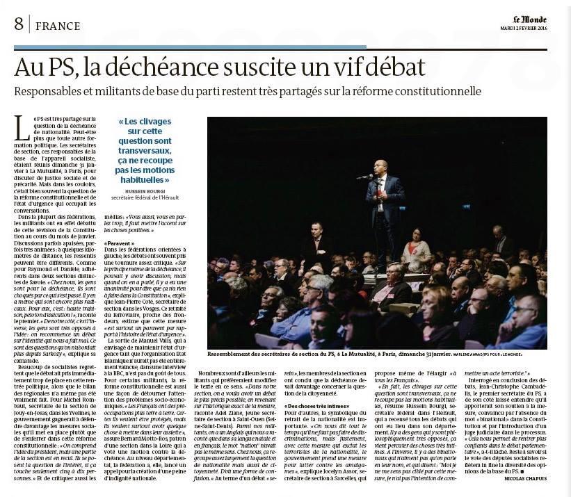 Le Monde - 2 février 2016 © Marlène Awaad.jpg