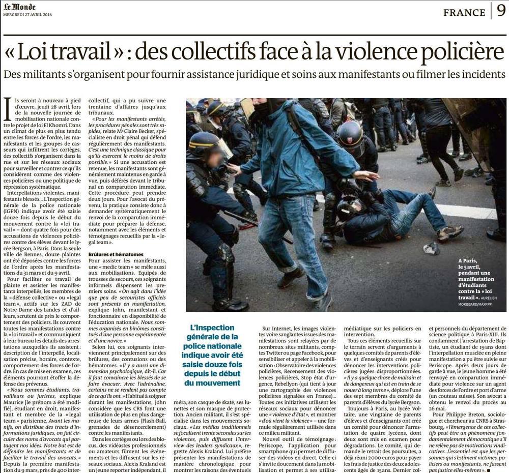 Le Monde - 27 avril 2016 © Aurélien Morissard.jpg