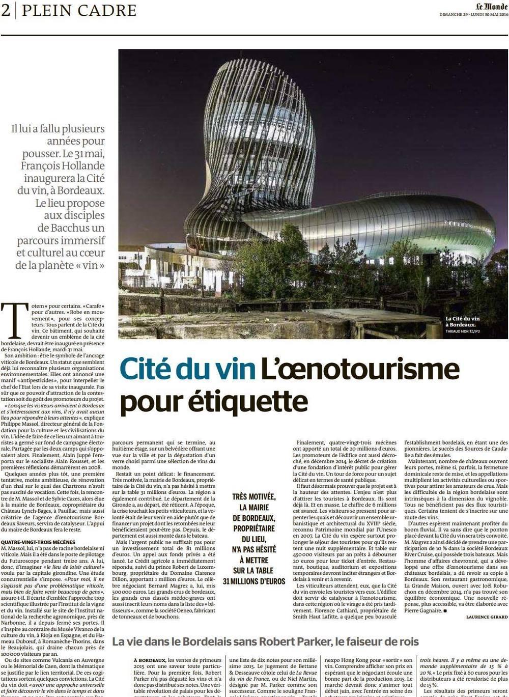 Le Monde - 29 mai 2016 © Thibaud Moritz.jpg