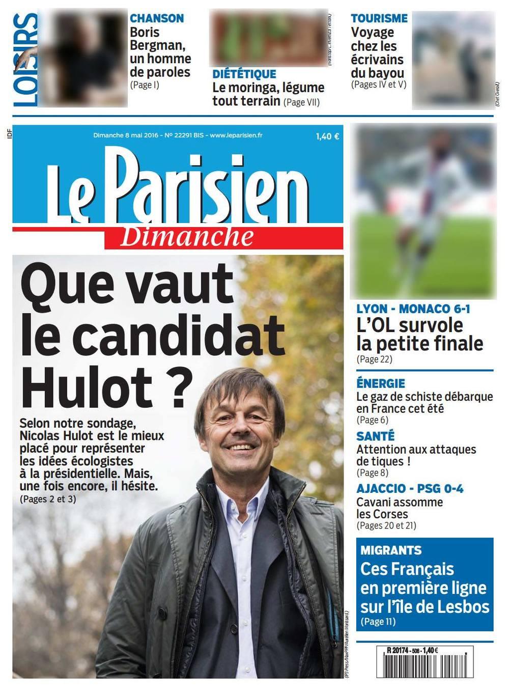 Le Parisien Dimanche - 8 mai 2016 © Aurélien Morissard.jpg