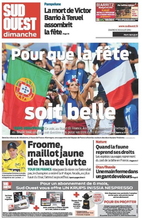Sud Ouest - 10 juillet 2016 © Clément Mahoudeau.jpg