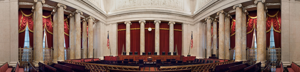 Interior of Supreme Court